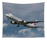 Japan Airlines Boeing 767-346 Tapestry