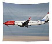Norwegian Boeing 737 Max 8 Tapestry