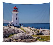Peggys Cove Lighthouse Tapestry