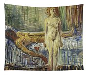 The Death Of Marat II  Tapestry