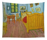 Bedroom In Arles Tapestry