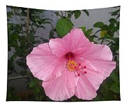 Pink Hibiscus Tapestry