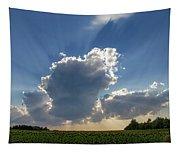 Prairie Storm Clouds Tapestry