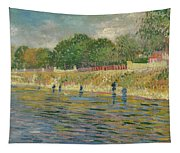 Bank Of The Seine Tapestry