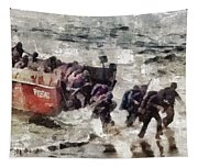 D Day Landings, Wwii Tapestry