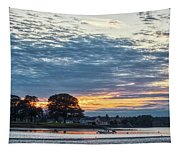 Danvers River Sunset Tapestry