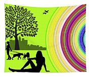 A Day In The Park Tapestry