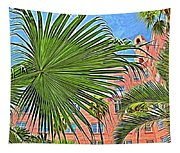 A Don Cesar Palm Frond Tapestry