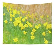 A Host Of Daffodils Tapestry