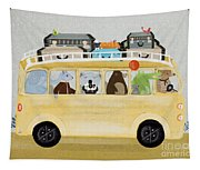 A Little Vacation Tapestry