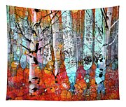 A Party In The Forest Tapestry