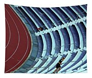 A Stadium Workout Tapestry