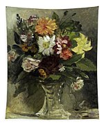 A Vase Of Flowers, 1833 Tapestry