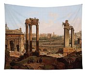A View Of The Forum Romanum Tapestry