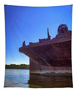 Abandoned Ship Tapestry
