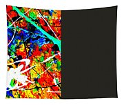 abstract composition K12 Tapestry