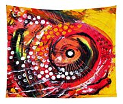 Abstract Lion Fish Tapestry