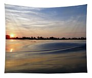 Abstract Sunset Tapestry