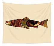 Abstract Trout Tapestry