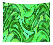 Abstract Waves Painting 0010075 Tapestry