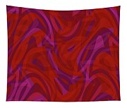 Abstract Waves Painting 0010080 Tapestry