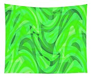 Abstract Waves Painting 0010082 Tapestry