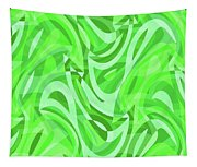 Abstract Waves Painting 0010086 Tapestry