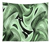 Abstract Waves Painting 0010095 Tapestry