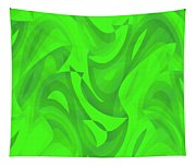 Abstract Waves Painting 0010100 Tapestry