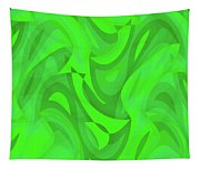 Abstract Waves Painting 0010101 Tapestry