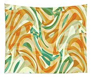 Abstract Waves Painting 0010105 Tapestry