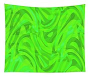 Abstract Waves Painting 0010106 Tapestry