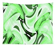 Abstract Waves Painting 0010108 Tapestry