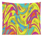 Abstract Waves Painting 0010109 Tapestry