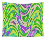 Abstract Waves Painting 0010113 Tapestry