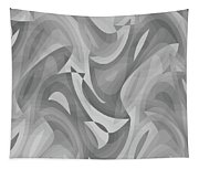 Abstract Waves Painting 0010119 Tapestry