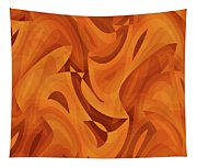 Abstract Waves Painting 001451 Tapestry