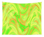 Abstract Waves Painting 007178 Tapestry
