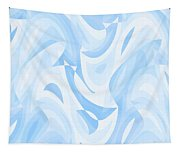 Abstract Waves Painting 007182 Tapestry