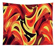 Abstract Waves Painting 007185 Tapestry