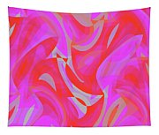 Abstract Waves Painting 007190 Tapestry
