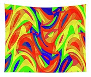 Abstract Waves Painting 007192 Tapestry