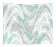 Abstract Waves Painting 007194 Tapestry