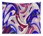 Abstract Waves Painting 007199 Tapestry
