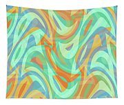 Abstract Waves Painting 007202 Tapestry