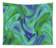Abstract Waves Painting 007221 Tapestry