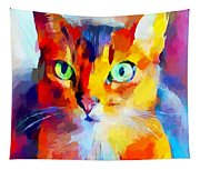 Abyssinian Cat Tapestry