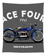 Ace Four 1925 Tapestry by Mark Rogan