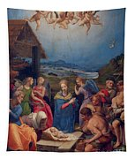 Adoration Of The Shepherds Tapestry