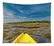Adventurous Kayak In Maine Tapestry